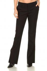 Aaiko |  Flared trousers Flarene | black  | Picture 4