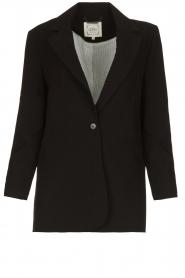 Aaiko |  Classic blazer Latina | black  | Picture 1