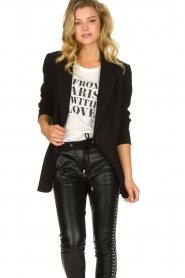 Aaiko |  Classic blazer Latina | black  | Picture 4
