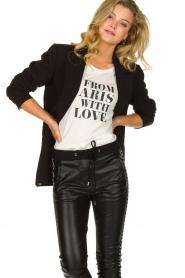 Aaiko |  Classic blazer Latina | black  | Picture 2