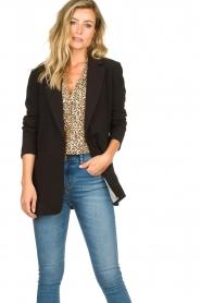 Aaiko |  Classic blazer Latina | black  | Picture 5
