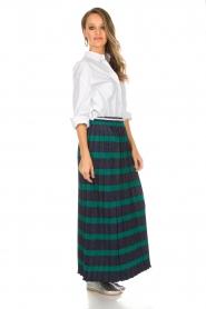 Silvian Heach |  Maxi skirt Adicora | blue  | Picture 3