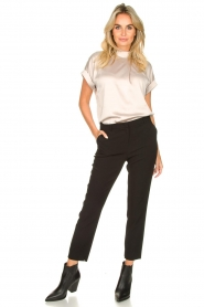 Aaiko |  Stretch trousers Parene | black  | Picture 3