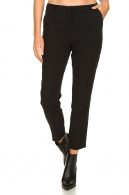Aaiko |  Stretch trousers Parene | black  | Picture 4