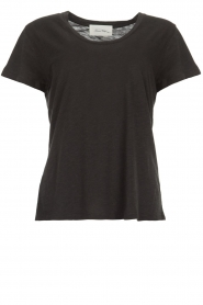 American Vintage |  Basic round neck T-shirt Jacksonville | dark grey  | Picture 1