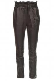 Dante 6 | Leather pants Duncan | black  | Picture 1