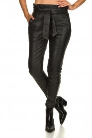 Dante 6 | Leather pants Duncan | black  | Picture 4