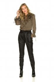 Dante 6 | Leather pants Duncan | black  | Picture 3