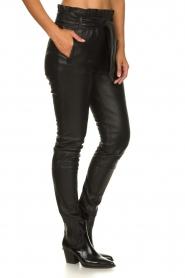 Dante 6 | Leather pants Duncan | black  | Picture 5