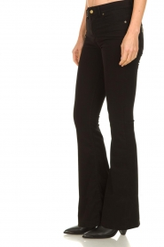 Lois Jeans |  L32 Flared jeans Lea Soft Teal | black   | Picture 5