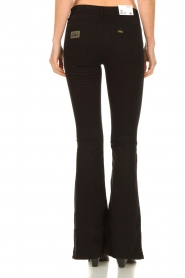 Lois Jeans |  L32 Flared jeans Lea Soft Teal | black   | Picture 6