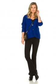 Lois Jeans |  L32 - Flared jeans Lea Soft Teal| black   | Picture 3
