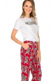 Silvian Heach | T-shirt Hamilton | wit  | Afbeelding 4