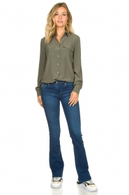 Lois Jeans | L32 Flared jeans Melrose teal | blauw  | Afbeelding 3