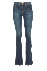 Lois Jeans |  L34 Flared jeans Melrose - Marconi dark wash | blue  | Picture 1