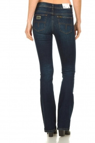Lois Jeans |  L34 Flared jeans Melrose - Marconi dark wash | blue  | Picture 5