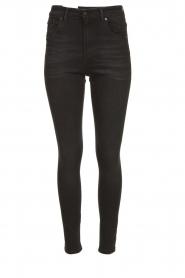 Lois Jeans |  Skinny high waist jeans Celia | black  | Picture 1