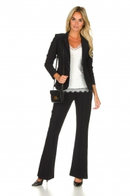 D-ETOILES CASIOPE |  Travelwear trousers Rodez | black  | Picture 3