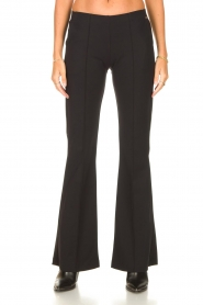 D-ETOILES CASIOPE |  Travelwear flair trousers Rodez | black  | Picture 4