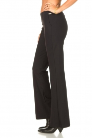 D-ETOILES CASIOPE |  Travelwear flair trousers Rodez | black  | Picture 5