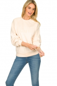 Dante 6 |  Sweater with balloon sleeves Love Me | soft pink  | Picture 2