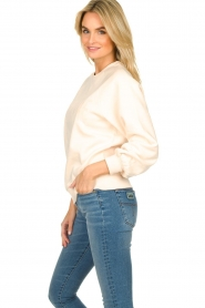 Dante 6 |  Sweater with balloon sleeves Love Me | soft pink  | Picture 4