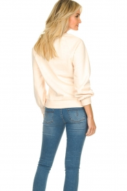 Dante 6 |  Sweater with balloon sleeves Love Me | soft pink  | Picture 5