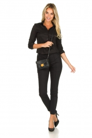 Set |  Classic stretch blouse Maxime | black  | Picture 3
