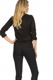 Set |  Classic stretch blouse Maxime | black  | Picture 5
