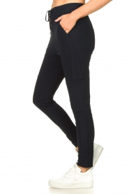 D-ETOILES CASIOPE |  Travelwear pants Guet | dark blue  | Picture 5