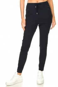 D-ETOILES CASIOPE |  Travelwear pants Guet | dark blue  | Picture 4