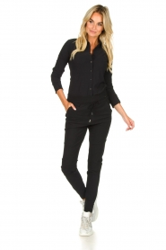 D-ETOILES CASIOPE |  Travelwear trousers Phé Plus | black  | Picture 3
