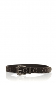 So Jamie |  Leather belt Lindsay | black  | Picture 1