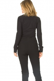 D-ETOILES CASIOPE | Travelwear blouse Petite | black  | Picture 6
