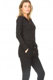 D-ETOILES CASIOPE | Travelwear blouse Petite | black  | Picture 5