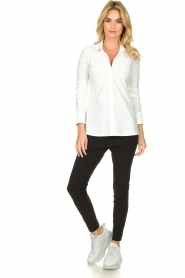 D-ETOILES CASIOPE |  Travelwear  blouse Petite | white  | Picture 3