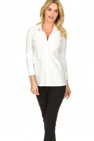 D-ETOILES CASIOPE |  Travelwear  blouse Petite | white  | Picture 4