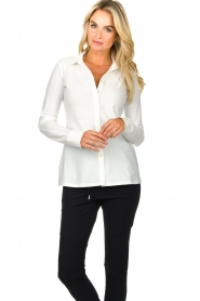 D-ETOILES CASIOPE |  Travelwear blouse Petite | white  | Picture 5
