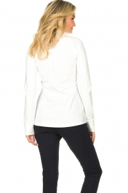 D-ETOILES CASIOPE |  Travelwear blouse Petite | white  | Picture 7