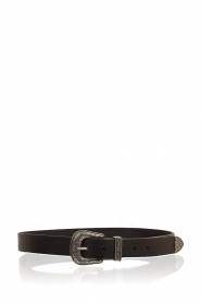 So Jamie |  Leather belt Melody | black  | Picture 1