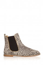 Maluo |  Leather ankle boots Cato | white  | Picture 1