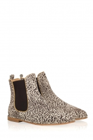 Maluo |  Leather ankle boots Cato | white  | Picture 4