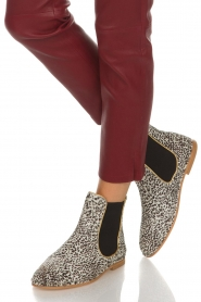 Maluo |  Leather ankle boots Cato | white  | Picture 3