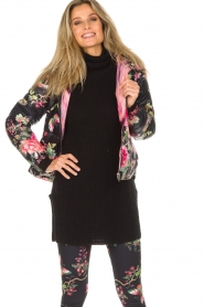 Hale Bob |  Reversible coat Suri | black  | Picture 5