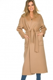 ba&sh |  Wool coat Day | camel  | Picture 6