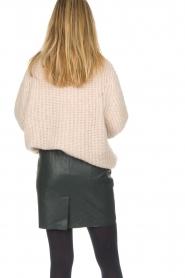 Dante 6 |  Leather skirt Eshvi | green  | Picture 7