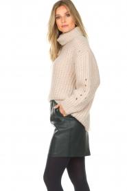 Dante 6 |  Leather skirt Eshvi | green  | Picture 6