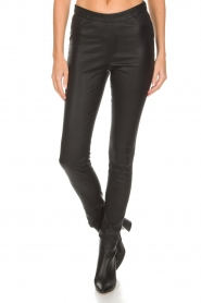 Dante 6 |  Leather leggings Campbell | black  | Picture 3