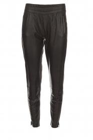 Dante 6 |  Leather pants Moji | black  | Picture 1