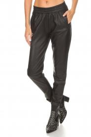 Dante 6 |  Leather pants Moji | black  | Picture 3